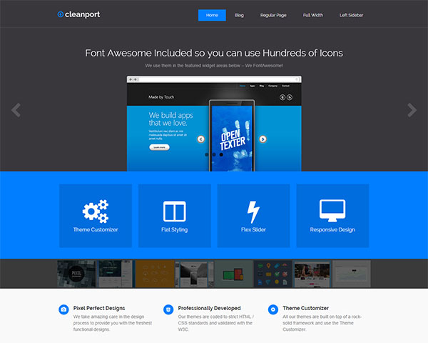 CleanPort-Lite-Free-WP-Theme