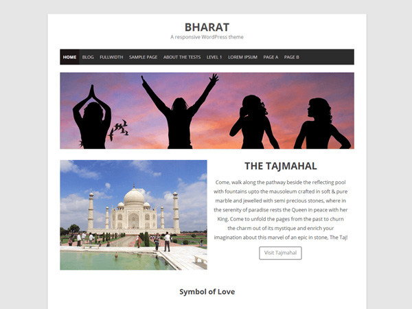 Bharat-Free-WordPress-Theme