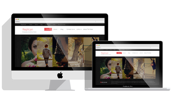 Replican-Free-WordPress-Photography-Themes