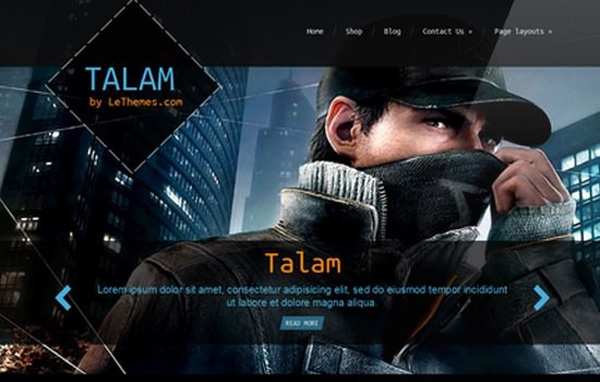 Talam-Multipurpose-One-Page-Theme