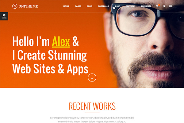 Unitheme   WordPress Theme