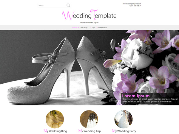 Wedding-Style-Free-WordPress-Theme