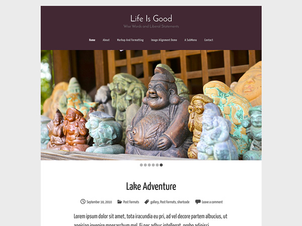 free-personal-blog-theme-life-is-good