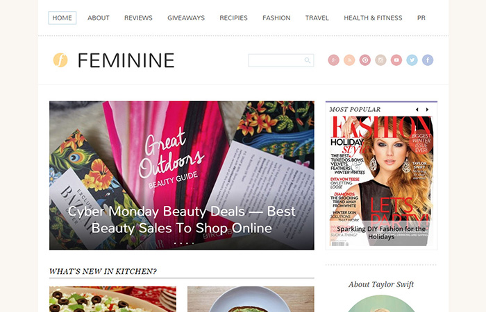 wordpress-themes-feminine