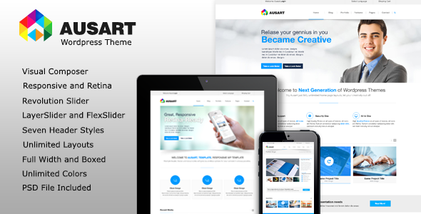 Ausart Business Theme