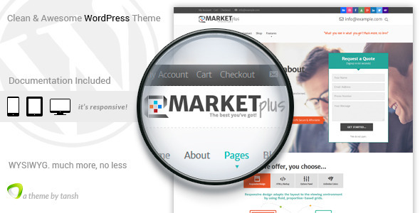Marketplus Marketing WordPress Theme