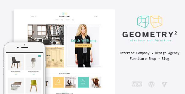 Interior Design Furniture WordPress Theme