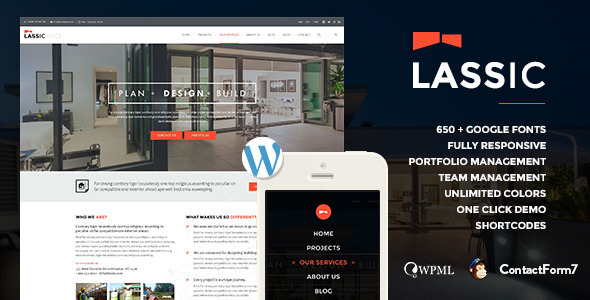 WP Industrial Business Theme