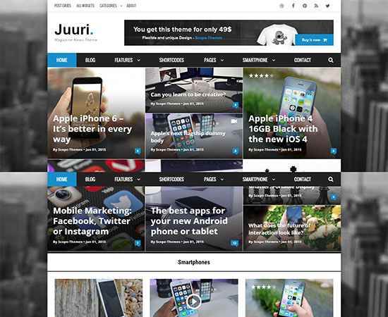 magazine-wordpress-themes-2015-Juuri-Magazine