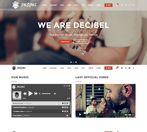 Decibel-Professional-Music-WordPress-Theme