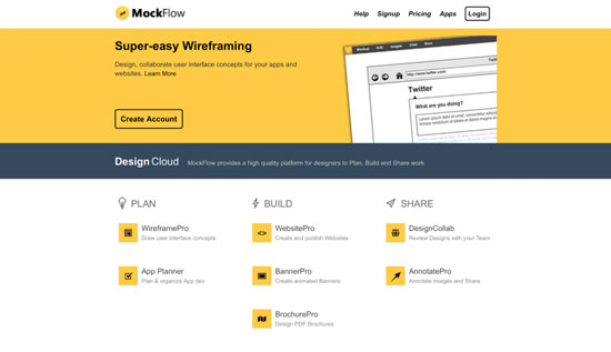 free-wireframing-tools-MockFlow