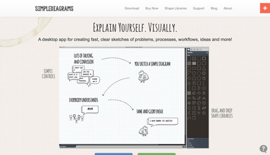 free-wireframing-tools-Simple-Diagrams