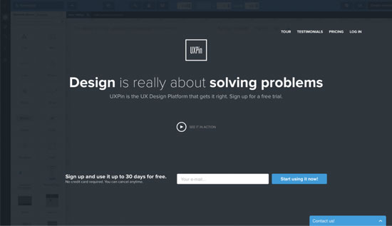 free-wireframing-tools-UXPin