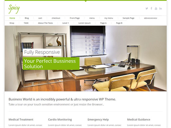 free-wordpress-themes-april-2015-Spicy
