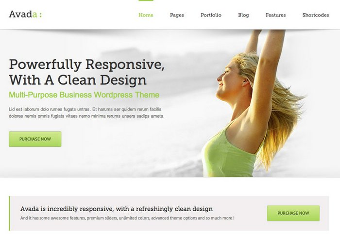 Avada all time popular Multipurpose WordPress Themes