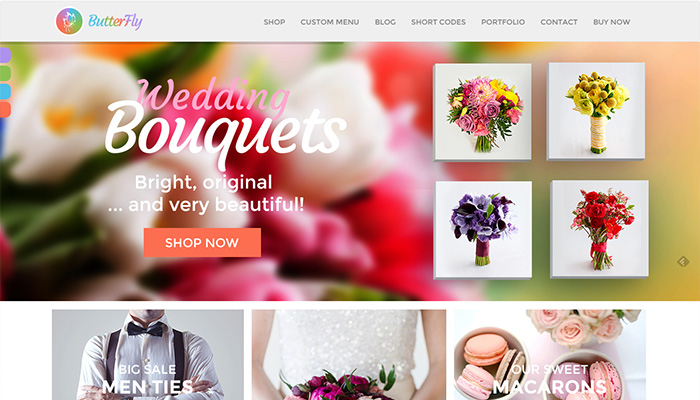 Butterfly Creative eCommerce WordPress Themes 2015