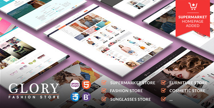 Glory eCommerce WordPress Themes 2015