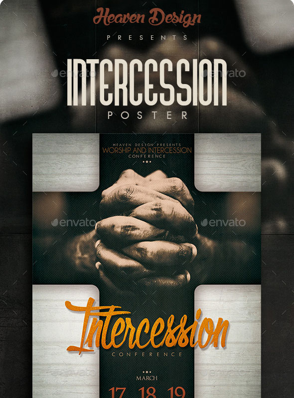 Intercession Church Events Flyer
