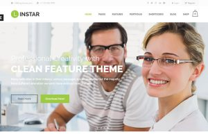 Responsive Business WordPress Themes 1
