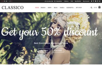 eCommerce  WordPress Themes 2015 Classico