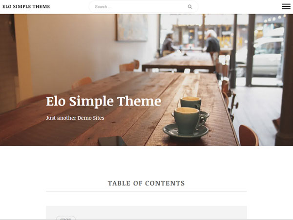 free wordpress themes may 2015 Elo