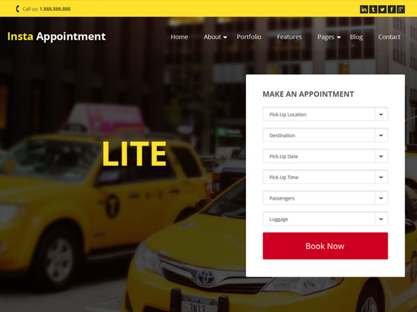 free wordpress themes may 2015 InstaAppointment-Lite