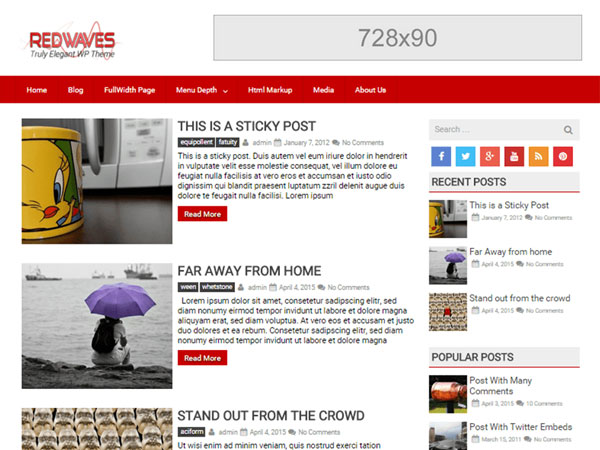 free-wordpress-themes-may-2015-RedWaves-Lite