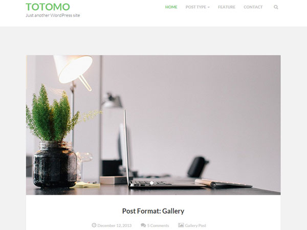 free wordpress themes may Totomo