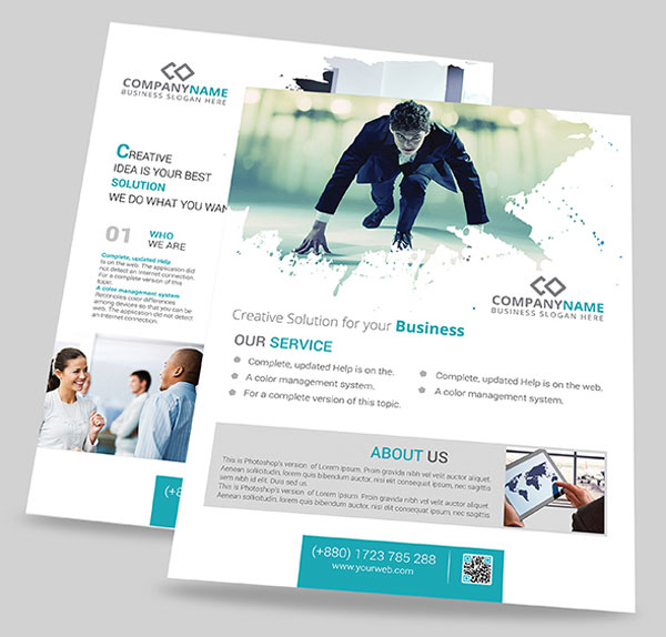 2-PSD-flyer-templates-free-download