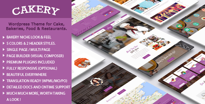 Cake-WordPress-Theme