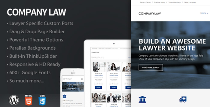 CompanyLaw-WordPress-Theme