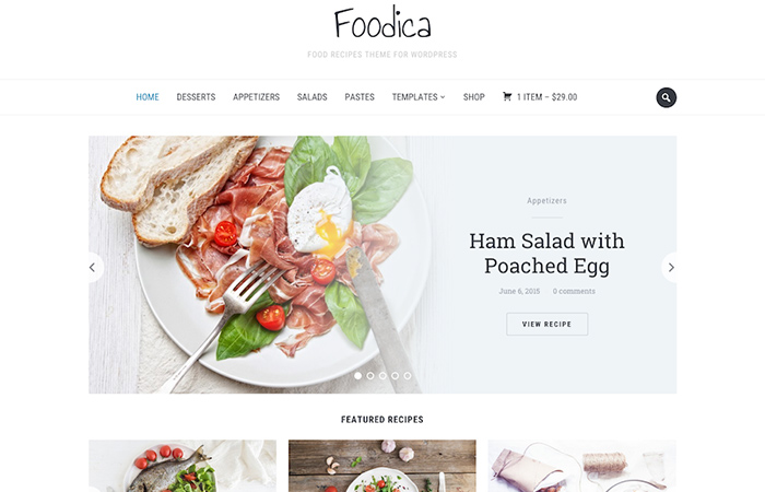 Foodica-WP-Theme-for-create-food-related-websites
