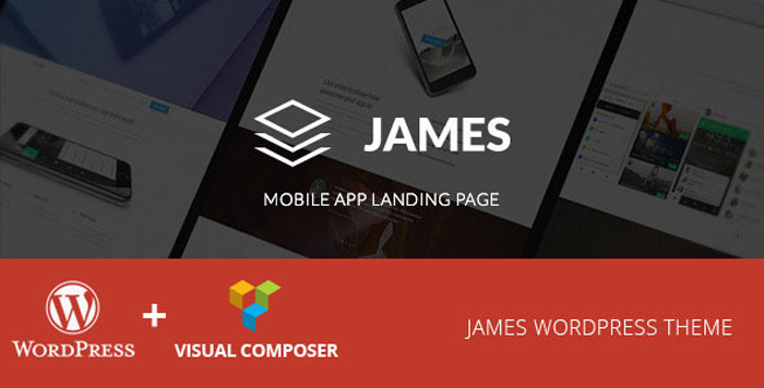 James-Material-Design-WordPres-App-Theme