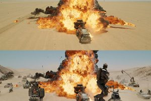 Mad Max-Fury Road Before and After Comparisons of the Visual Effects1