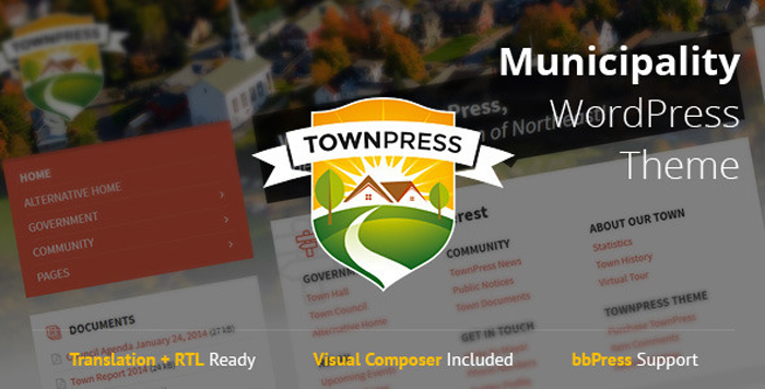 Nonprofit-WordPress-Theme-TownPress