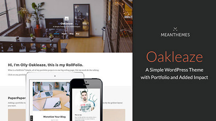 Oakleaze-Portfolio-Simple-WordPress-Themes-2015