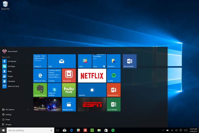 The-new-Start-menu-in-Windows-10