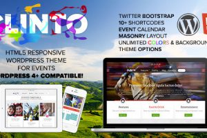 Clinto Responsive WordPress Theme for Events