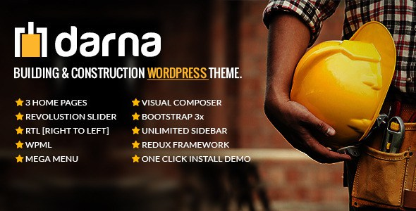 Darna Construction WordPress Theme