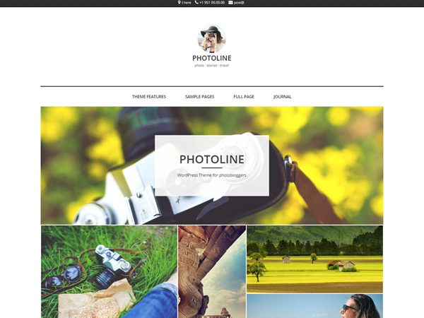 Photoline Free WordPress Theme