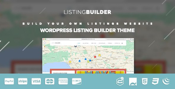 WordPress Listings Directory Theme 2015