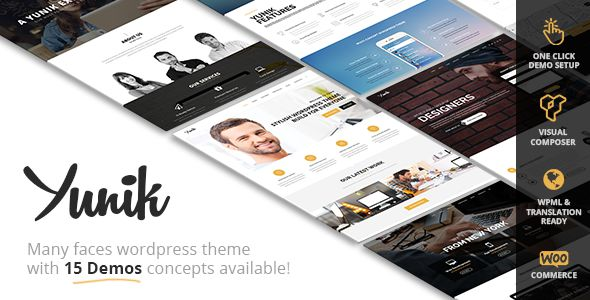 yunik-ultimate-multiconcept-wordpress-theme