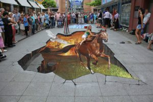 3d sidewalk art optical illusion 2