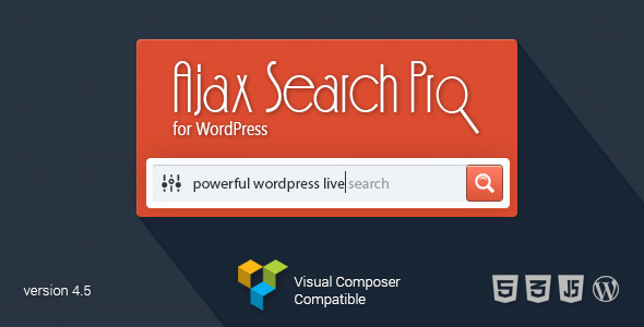 Ajax Search WordPress Live Search Plugin