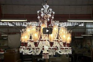 Making a crystal chandelier 2