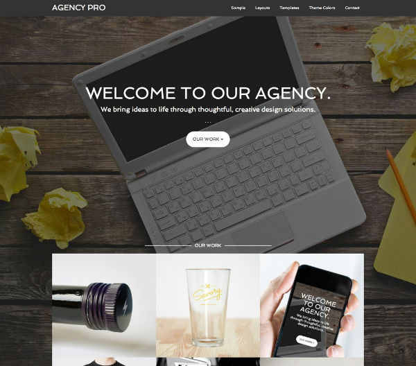 agency wp theme