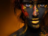 40 Crazy and Fun Face Painting Portraits Photography