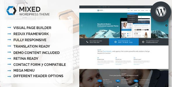 mixed-modern-and-professional-wordpress-theme