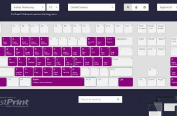 photoshop cc visual shortcut keyboard webpage 2