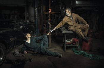 Auto Mechanics Recreate Renaissance Paintings 1